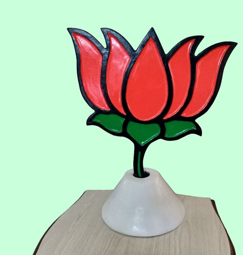 Multicolor Revolving Kamal Bjp Party Symbol Rs 4995 Piece Id