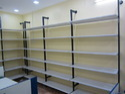 Pole Display and Shelves