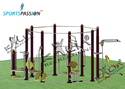 Octagonal Multi Activity Outdoor Gym