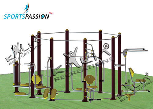 f1ccb1185728 Outdoor Fitness - Roman Rings Cum Twister Manufacturer from Noida