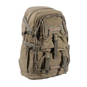 Grey Canvas Large Backpack