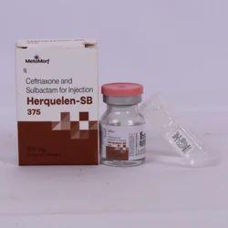 Ceftriaxone 250mg   Sulbactam 125 mg Inj