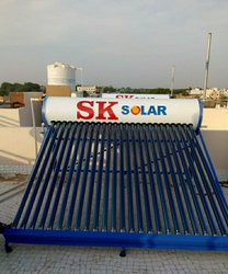 Home Use Solar Water Heater
