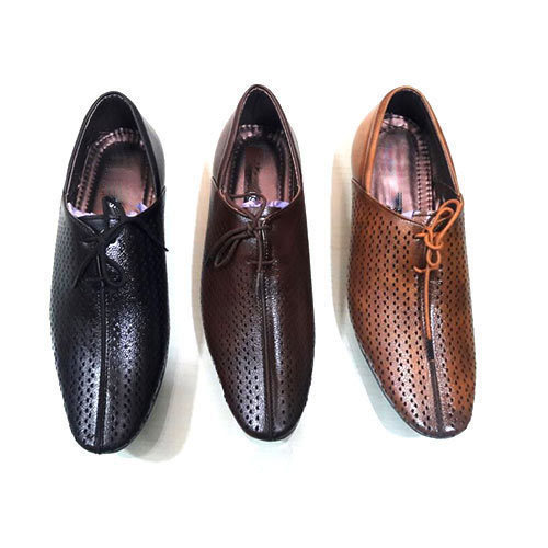 Men Colored Semi Formal Shoes