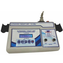 Ultrasonic Therapy Unit - 1 & 3 Mhz