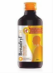 Benadryl Dry Cough Syrup