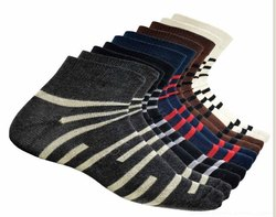 Cotton Striped Unisex Socks