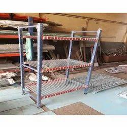 Wire Mesh Decking Rack