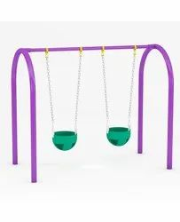Powder Coated Swing with Bucket
