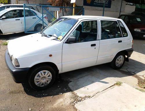 White Maruti 800 Ac Bsiii Petrol Used Car Rs 130000 Piece Id