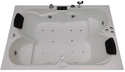 Amazon Bathtub (6' x 4') with Jacuzzi Massage, Bubble Bath