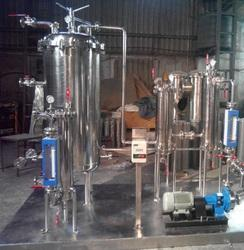 TFI Stainless Steel Filtration Plant, Automation Grade: Semi-automatic