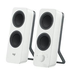 Logitech Z207 Bluetooth Computer Speakers With White Color