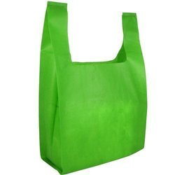 Green Non-Woven Grocery Carry Bag