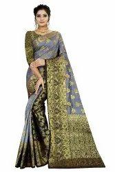 Designer Kanjivaram Silk Saree