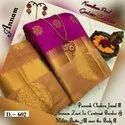 Golden Zari Butta Saree