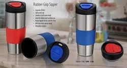 GM 128 Rubber Grip Sipper