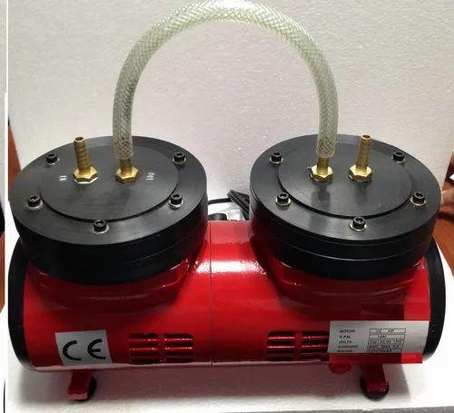 SA Instruments Oil Free Vacuum Pump Teflon Coated PP Head