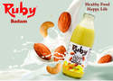 Ruby Flavour: Badam Almond Milk, 200 Ml, Packaging Type: Bottle