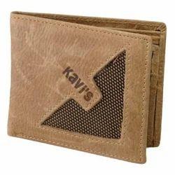 Om International Leather Designer Card Wallet