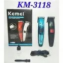 KM-3118 Rechargeable Hair Trimmer