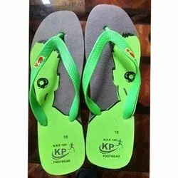 K.P. Rubber Mens Colored Slipper