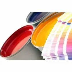 Offset Print Red, Yellow and Blue Web Offset Inks