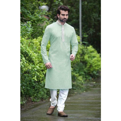 f84316ce9e Mens Cotton Simple Kurta Pyjama, Rs 1000 /piece, Silk India ...