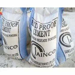 Jainco Acid Proof Cement, Bag