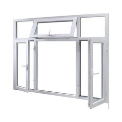 Casement Residential UPVC Combination Windows, Glass Thickness: 5mm- 24mm