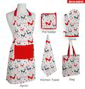 Christmas Kitchen Mitten Set
