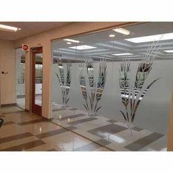 Partition Decorative Glass