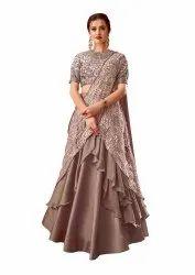 Pr Fashion Launched Beautiful More Stylish Designer Lehenga-Saree