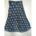 Dabu Indigo Printed Skirt