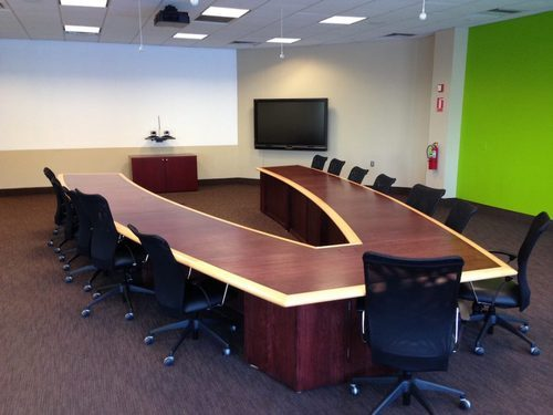 Crystal Furniture Wooden U Shaped Conference Table Rs Piece - U shaped conference table designs