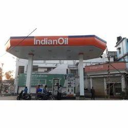 Petrol Pump IOCL Octagonal Canopy work