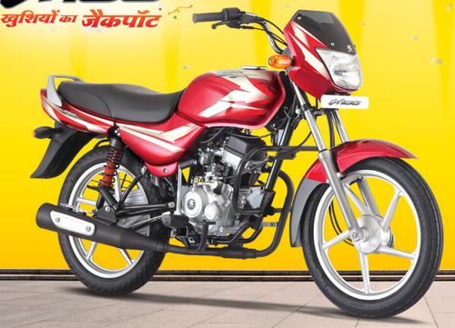 Flame Red Bajaj CT100 Bike, Bajaj CT 100