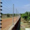 Compound Wall Solar Fencing System