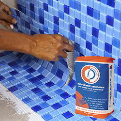 Swimming Pool Tile Fixing