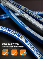 Blue Dairy Hoses, Size: 1/2 Inch And 1 Inch