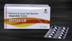 Cefixime 200 mg & Lactic Acid Bacillus 60 Million Spores
