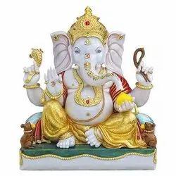Lord Ganpati Marble Statue