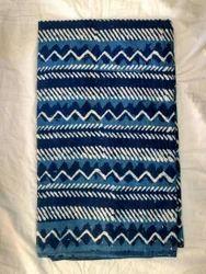 Indigo Block Printed Fabric