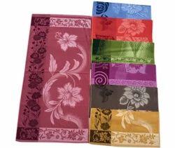 Cotton Candy Pattern 3060 Dark Flower Turkish Terry Towel