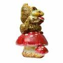 Colorful Statue Of Squirrel
