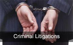 Criminal Litigations