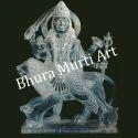 Black Marble Rahu Graha Statue