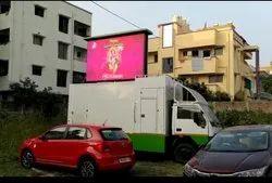 Video Display Function Van and Full Color LED Mobile Advertising Van