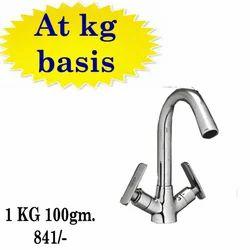 Brass Chrome Polish Basin Mixer