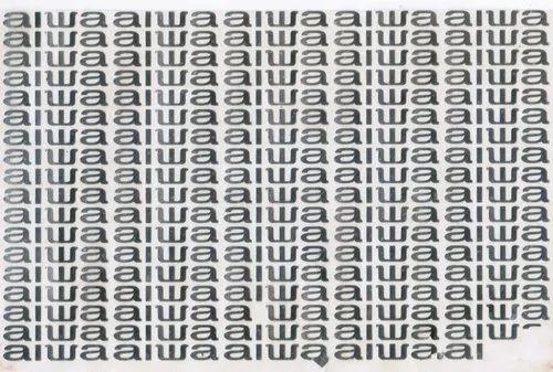 Silver Metal Logo Stickers